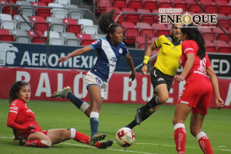Puebla Femenil regresó al triunfo en Toluca (Video)