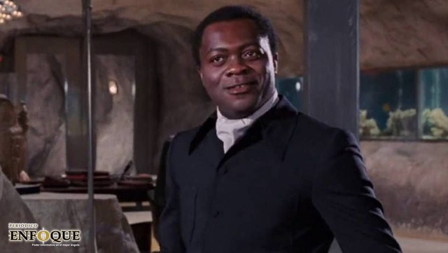 Muere Yaphet Kotto, el primer villano negro de James Bond