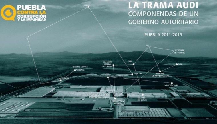 """Presentan """"La Trama Audi, componendas de un gobierno autoritario"""""""